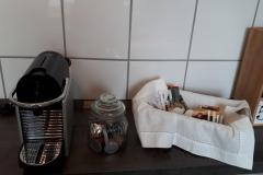 Frischer Kaffee und Gratiskapseln